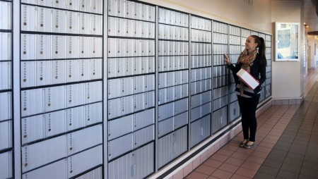 Private Mailbox In Lieu Of Post Office P O Box